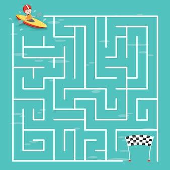 Doolhof labyrintspel