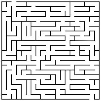 Doolhof puzzel