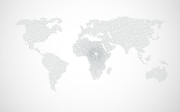 Doolhof wereld