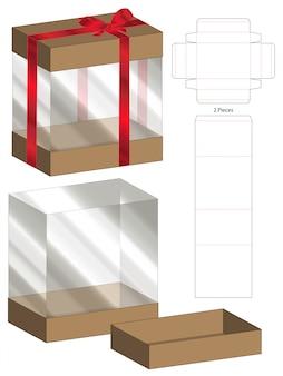 Doosverpakking gestanst matrijs voor afdrukken