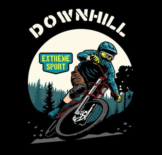Downhill fiets