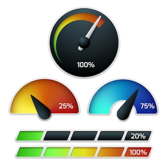 Download set snelheidsmeters
