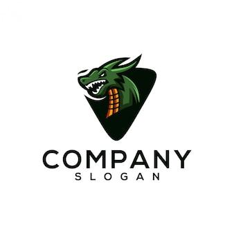 Draak logo ontwerp