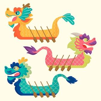 Dragon boat collectie