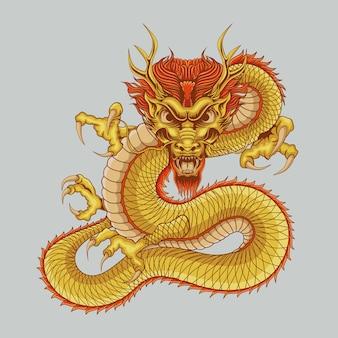 Dragon chinese illustratie