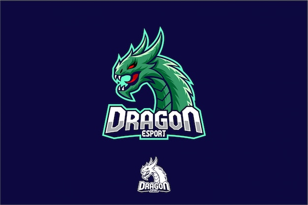 Dragon esport logo gaming