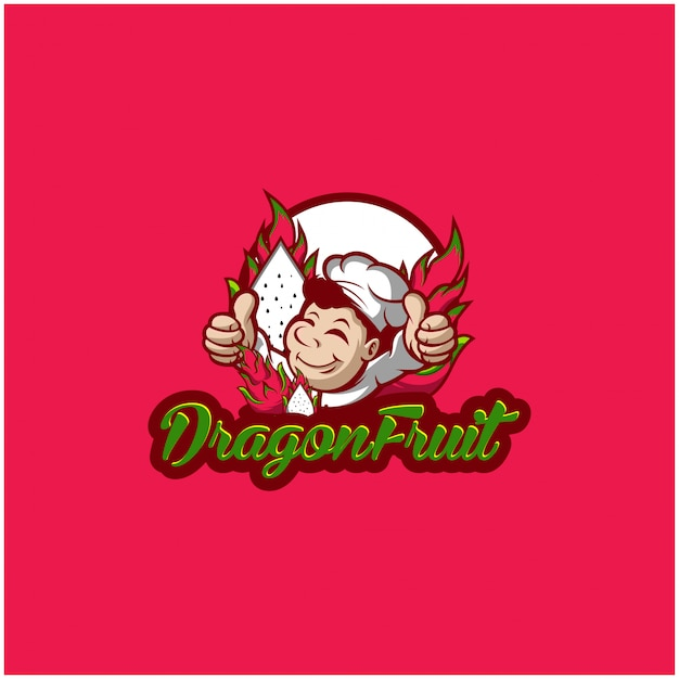 Dragon fruit-logo