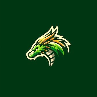 Dragon logo-ontwerp