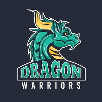 Dragon mascotte logo