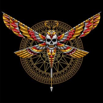 Dragonfly illustratie