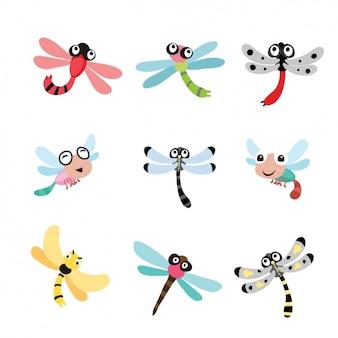Dragonfly ontwerpt collectie