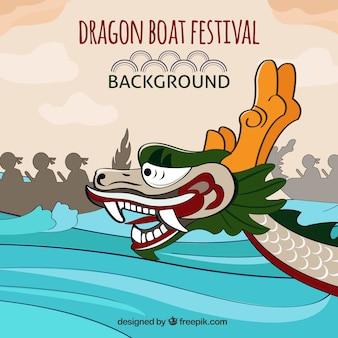 Drakenboot festival achtergrond
