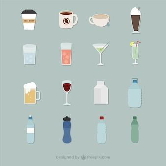 Drank pictogrammen