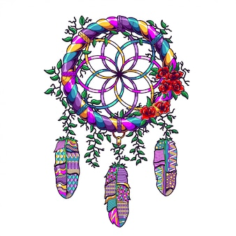 Dreamcatcher illustratie