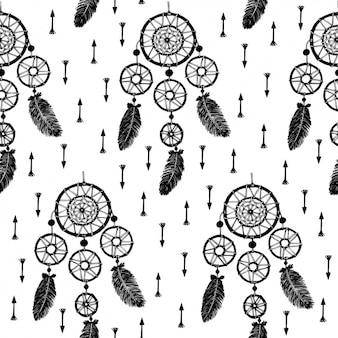 Dreamcatcher patroon ontwerp