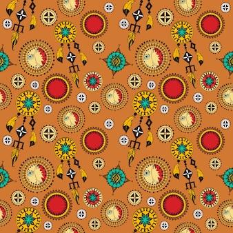 Dreamcatchers patroon ontwerp