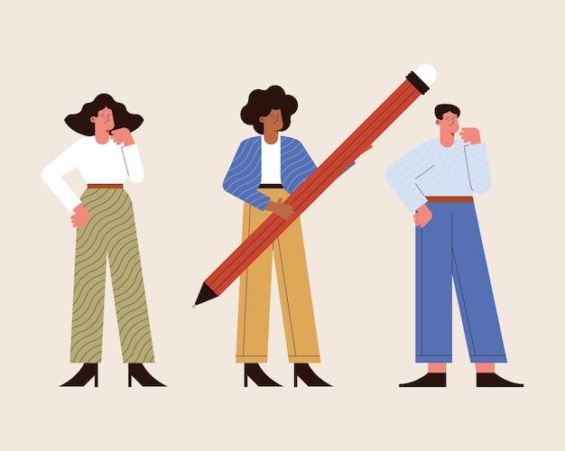 Drie karakters van bedrijfsethische personen