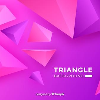 Driehoek achtergrond