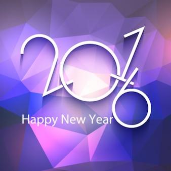 Driehoeken paarse nieuwe jaar achtergrond