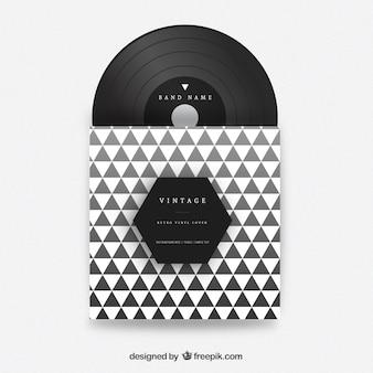 Driehoeken vinyl cover