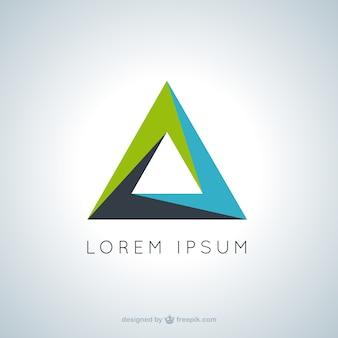 Driehoekige logo