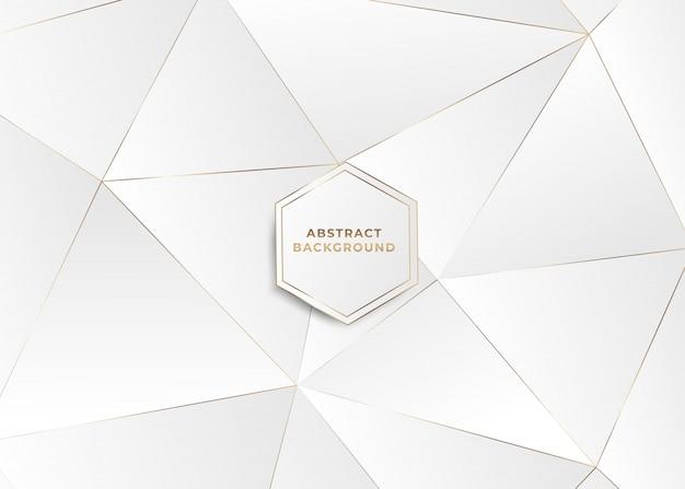 Driehoekige veelhoekige abstracte achtergrond