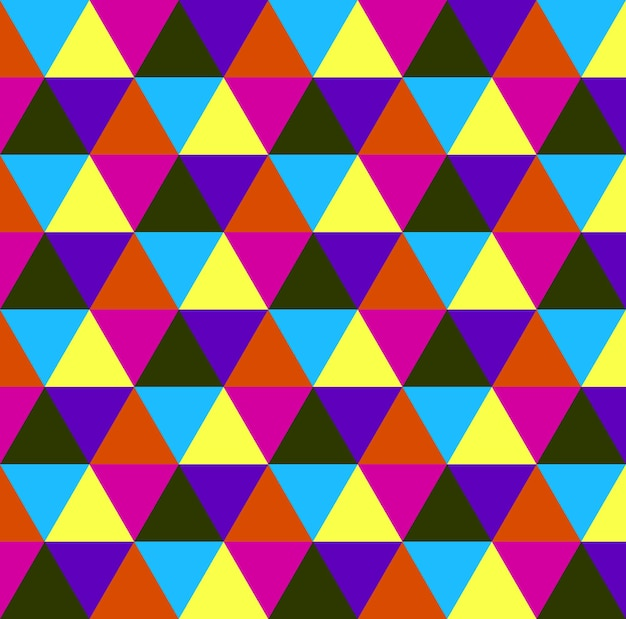 Driehoekspatroon, geometrische eenvoudige achtergrond. elegante en luxe stijlillustratie