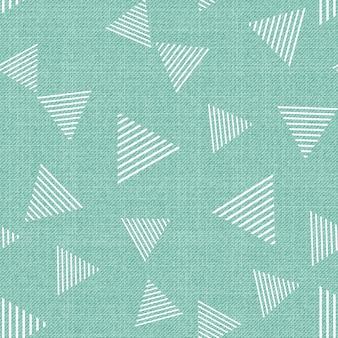 Driehoekspatroon op textiel, abstracte geometrische achtergrond. creatieve en luxe stijlillustratie