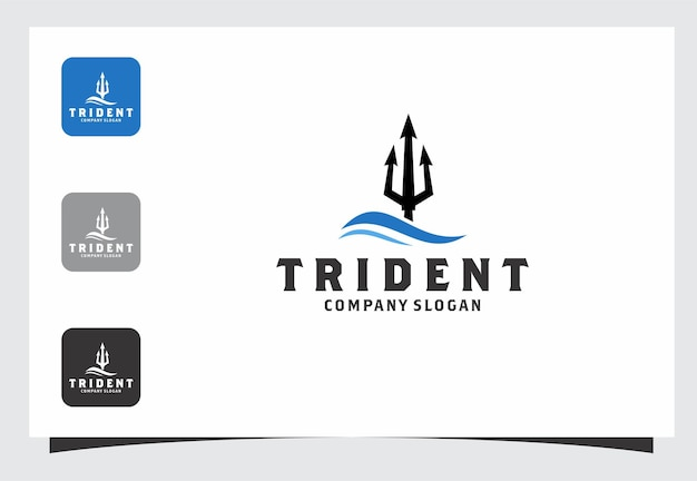 Drietand logo ontwerp