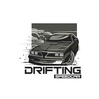 Drijvende auto
