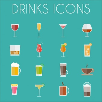 Drink pictogrammen collectie