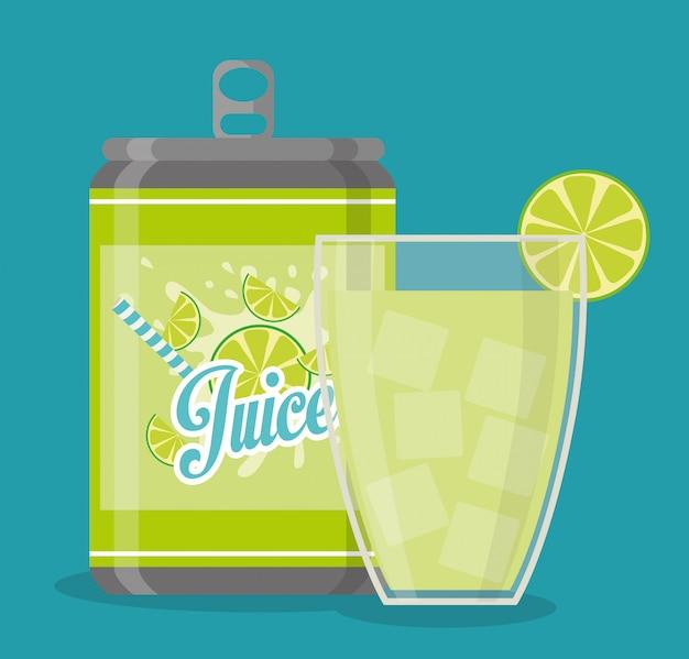 Drinkt digitaal ontwerp.