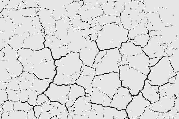 Droge gebarsten aarde textuur, achtergrond.