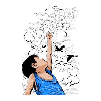 Dromen van kinderen en de ontwikkeling van bewustzijn