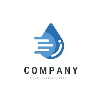 Drop sign-logo