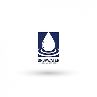 Drop template logo