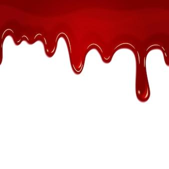 Druipend naadloos bloed