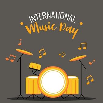 Drum internationale muziekdag