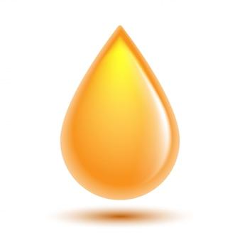 Druppel olie