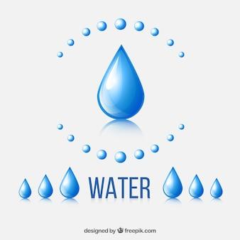 Druppels water