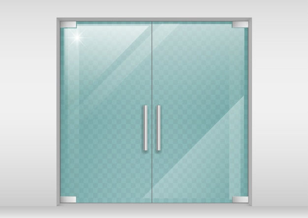 Dubbele glazen deuren