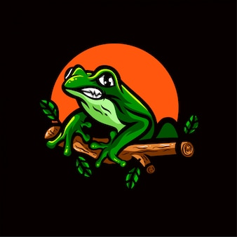 Ducky esports logo embleem sjabloon