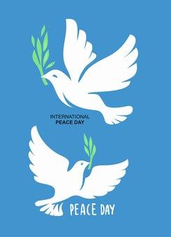 Duif vrede liefde vrijheid symbool