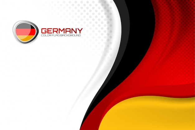 Duitse achtergrond voor de dag van de natie