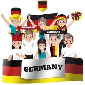 Duitsland national team supporter