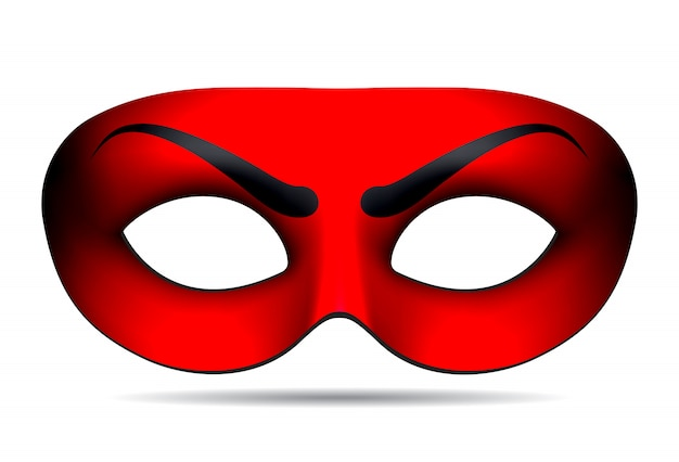 Duivel carnaval masker
