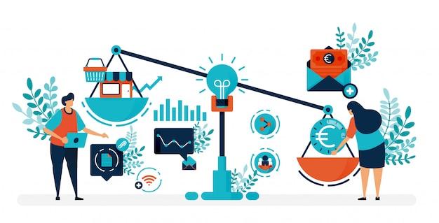 Durf kapitaal om bedrijven en bedrijven te starten. op zoek naar financiering en investeerders om een startup te starten.