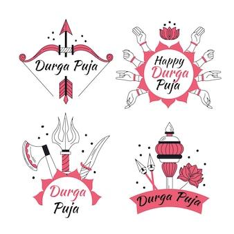 Durga-puja-etiketten