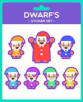 Dwarf-stickerset