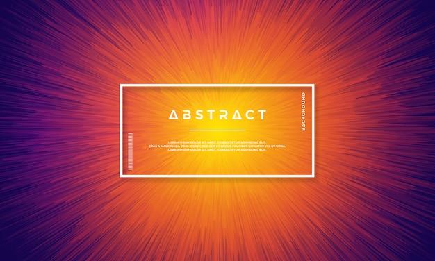 Dynamisch achtergrondontwerp met dynamische objecten gecentreerd in het midden.